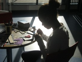shadow puppet making